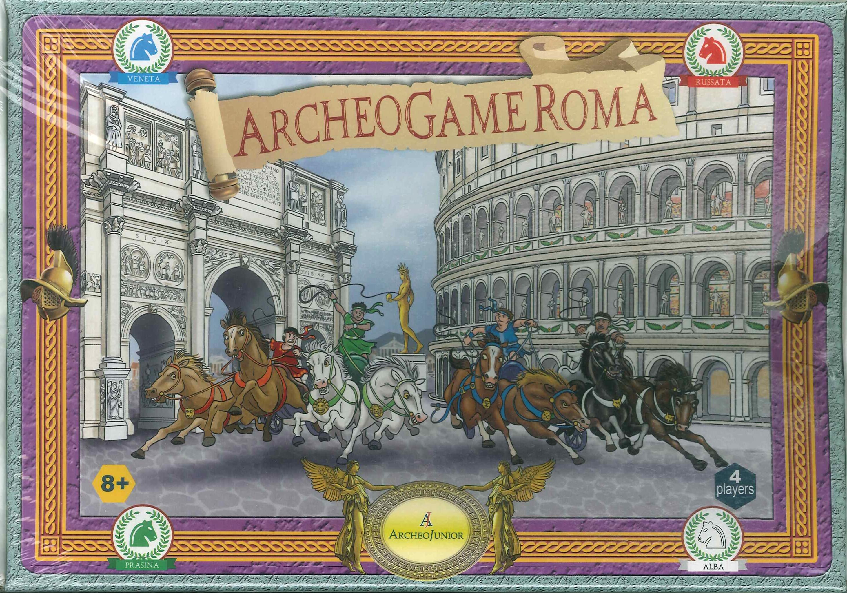 Archeogame Roma. Gioco da tavolo