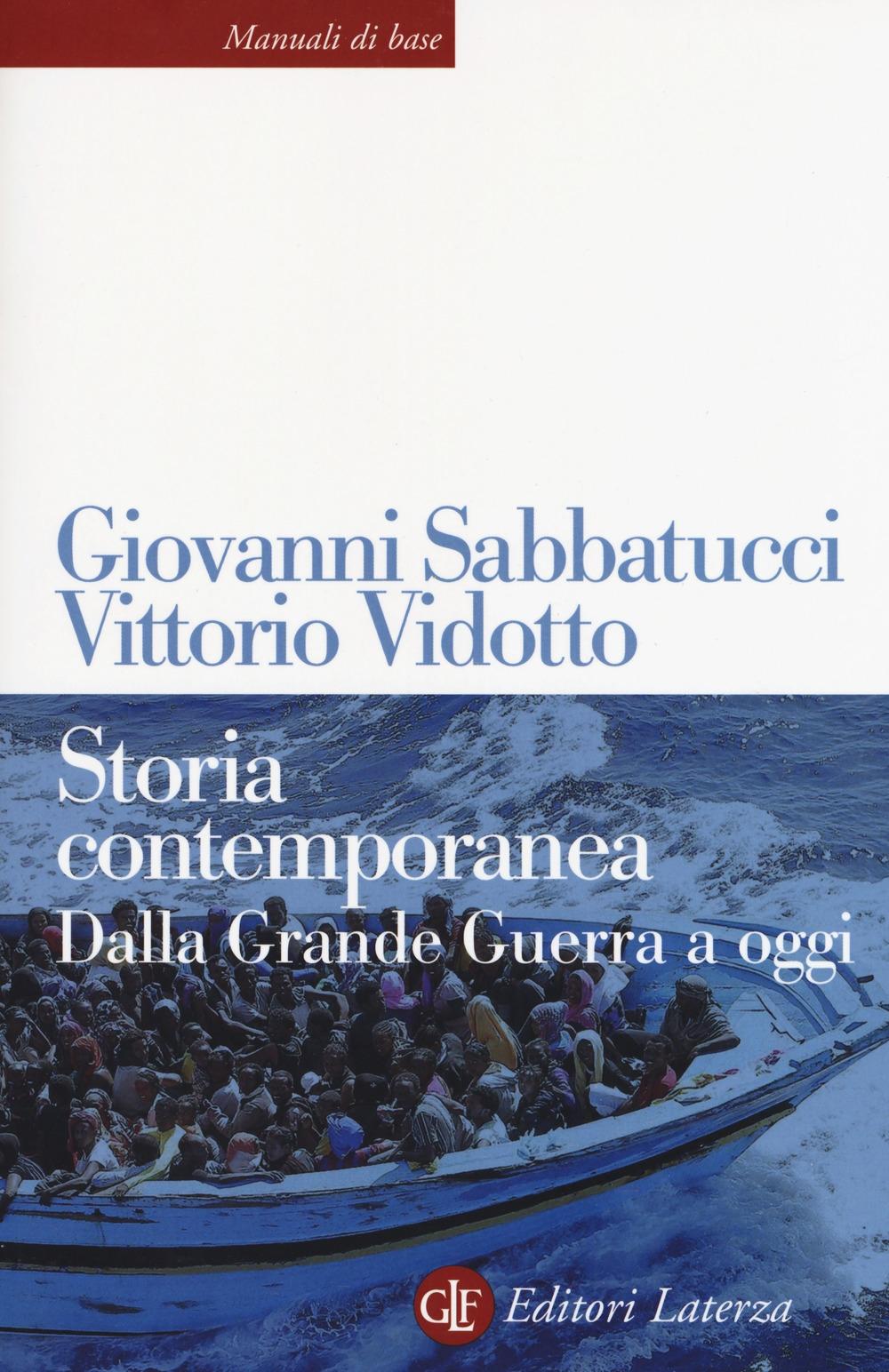 sabatucci vidotto storia contemporanea  9788859300434 Vittorio Vidotto - Giovanni Sabbatucci 2019 - Storia ...