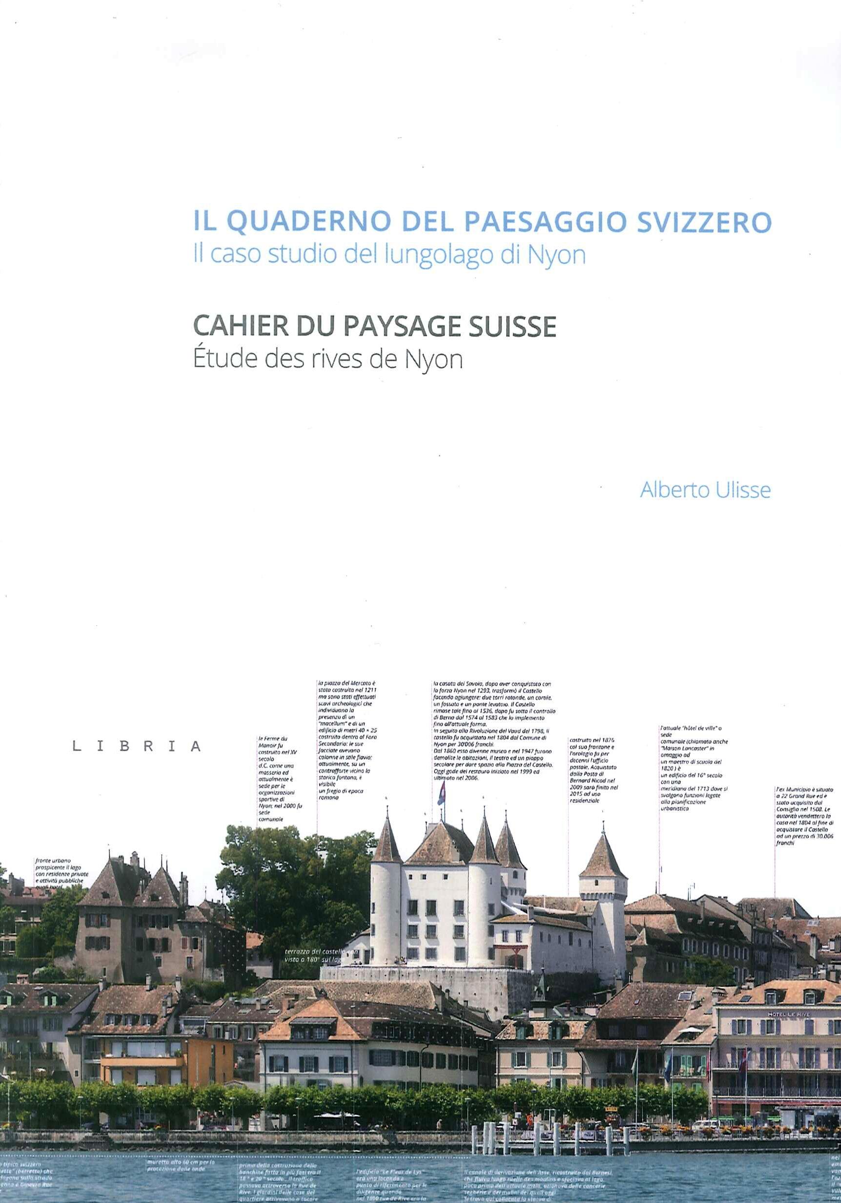 Il quaderno del paesaggio svizzero. Il caso studio del lungolago di Nyon