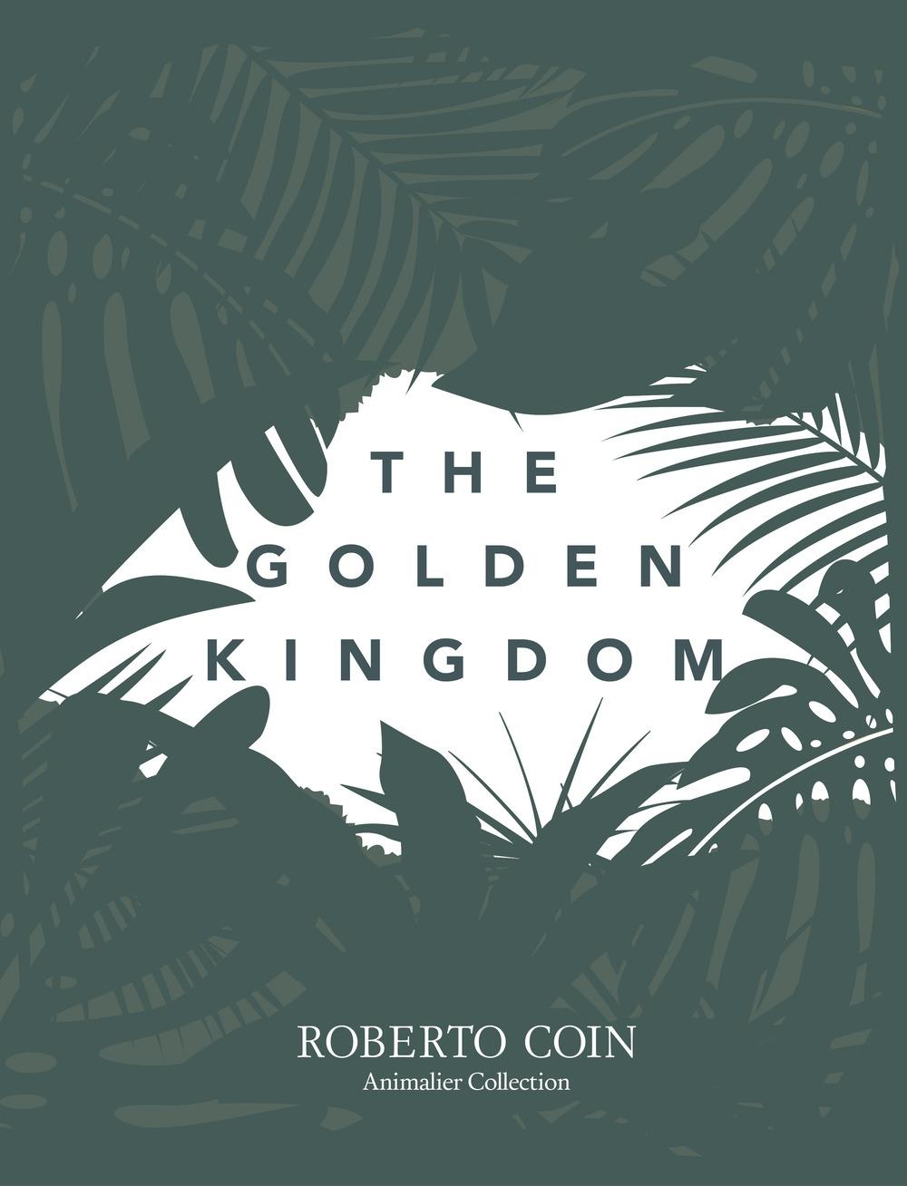 The Golden Kingdom. Roberto Coin animalier collection.