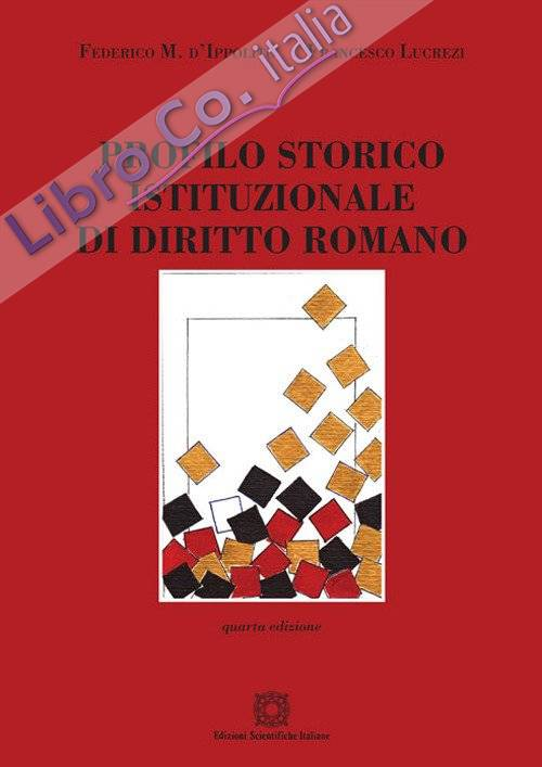 Profilo storico istituzionale di diritto romano