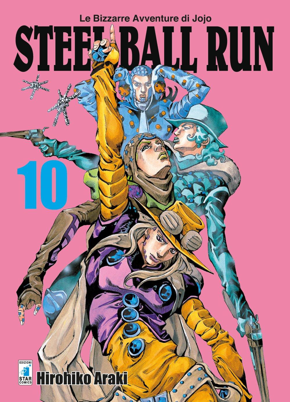 Steel ball run. Le bizzarre avventure di Jojo. Vol. 10