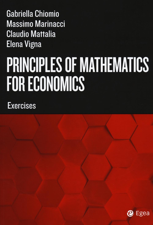 Principles of mathematics for economics. Exercises
