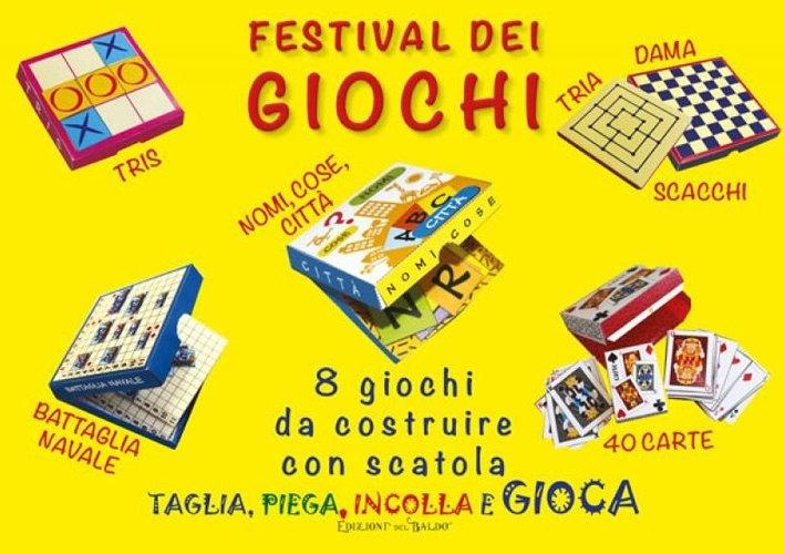 Festival dei giochi. 8 giochi d costruire con scatola