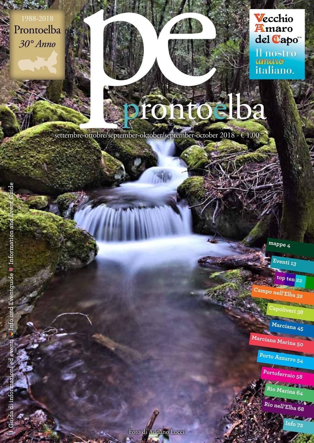 ProntoElba. Settembre-ottobre 2018. Vol. 8