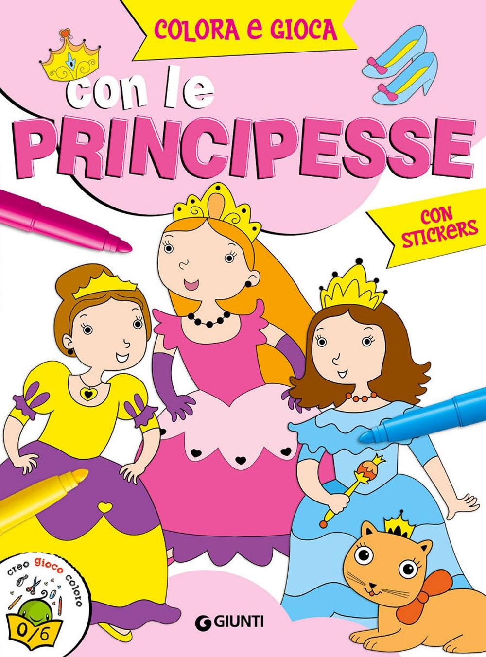 Colora e gioca con le principesse