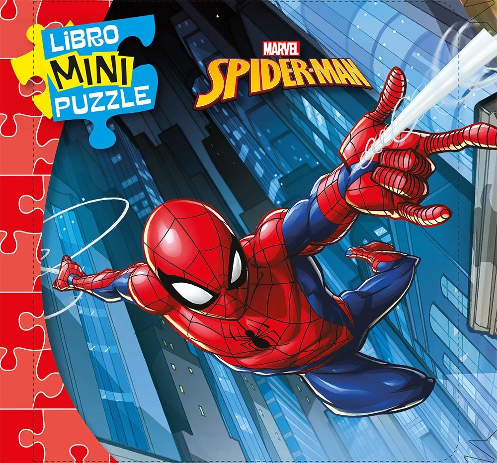 Spiderman. Libro mini puzzle