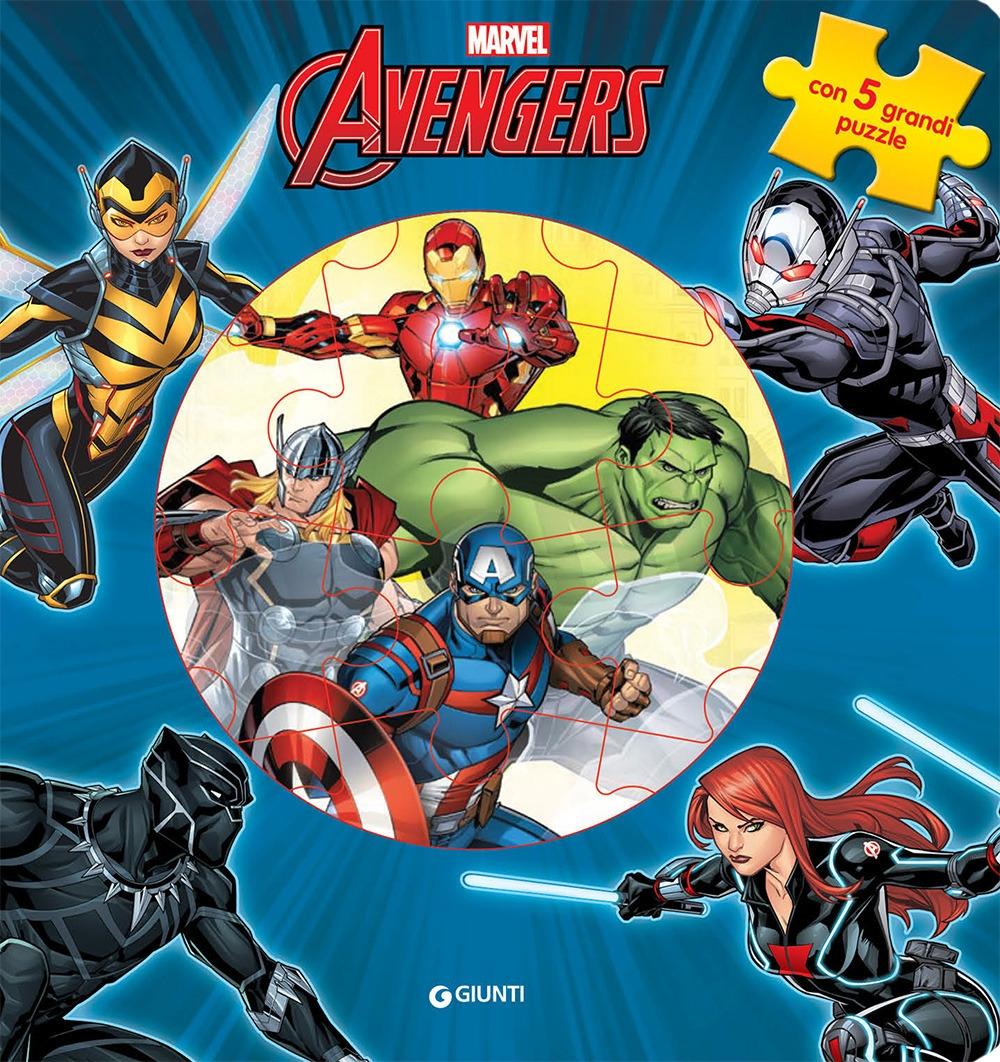 The Avengers. Il mio primo libro puzzle