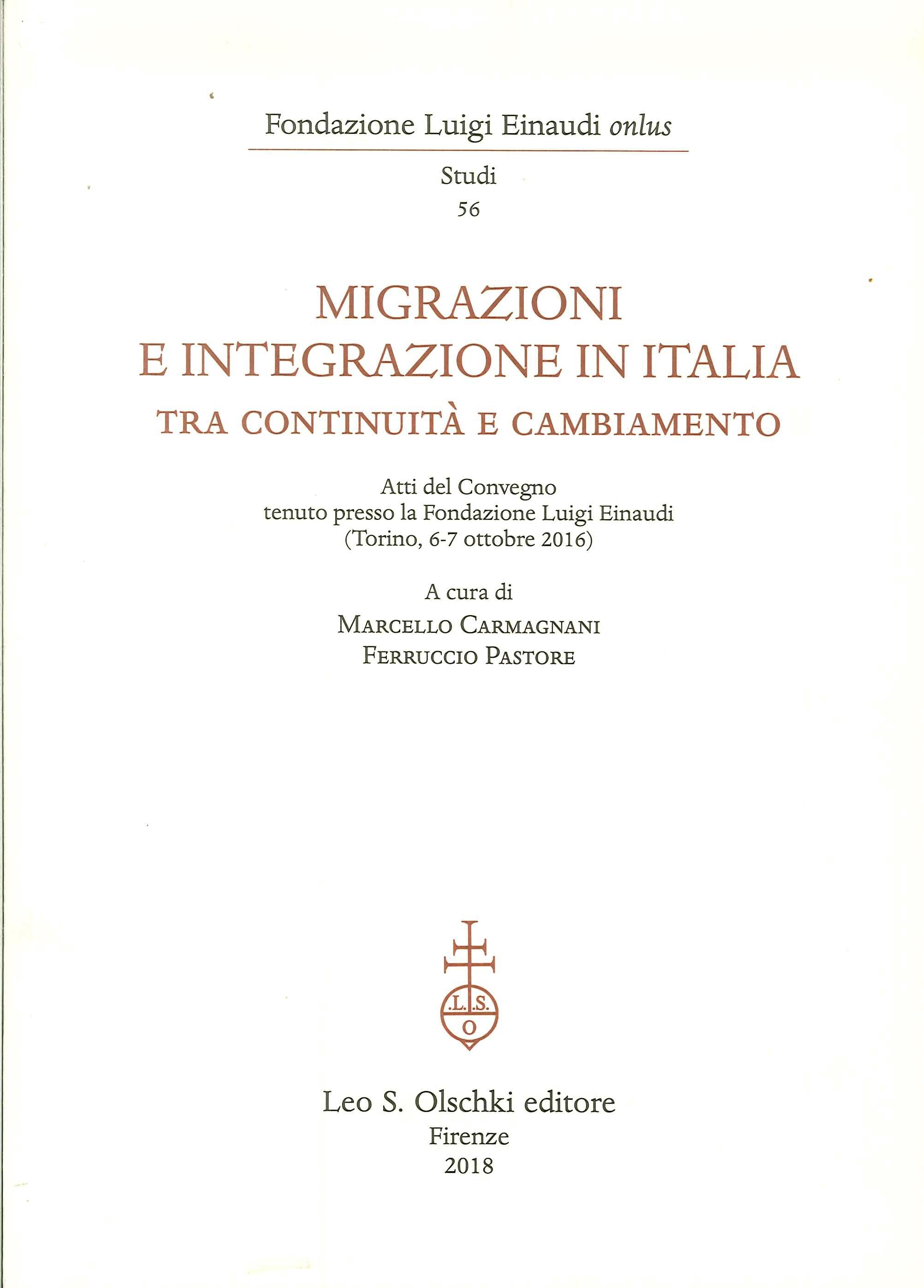Migrazioni e Integrazione in Italia tra continuità e cambiamento