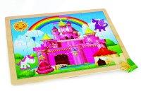 Pink Paradise. Puzzle ad incastro