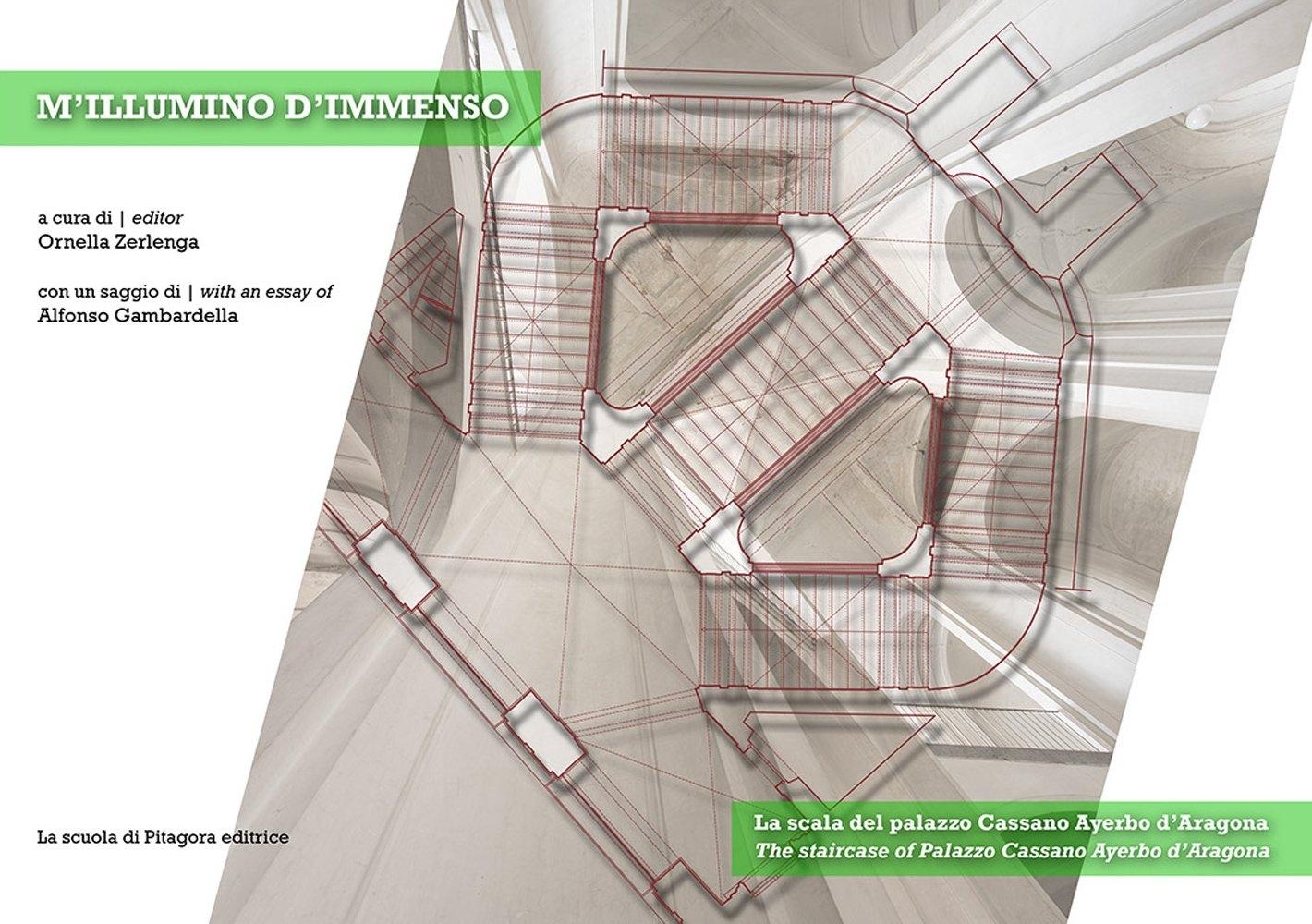M'illumino d'immenso. La scala del palazzo Cassano Ayerbo d'Aragona.