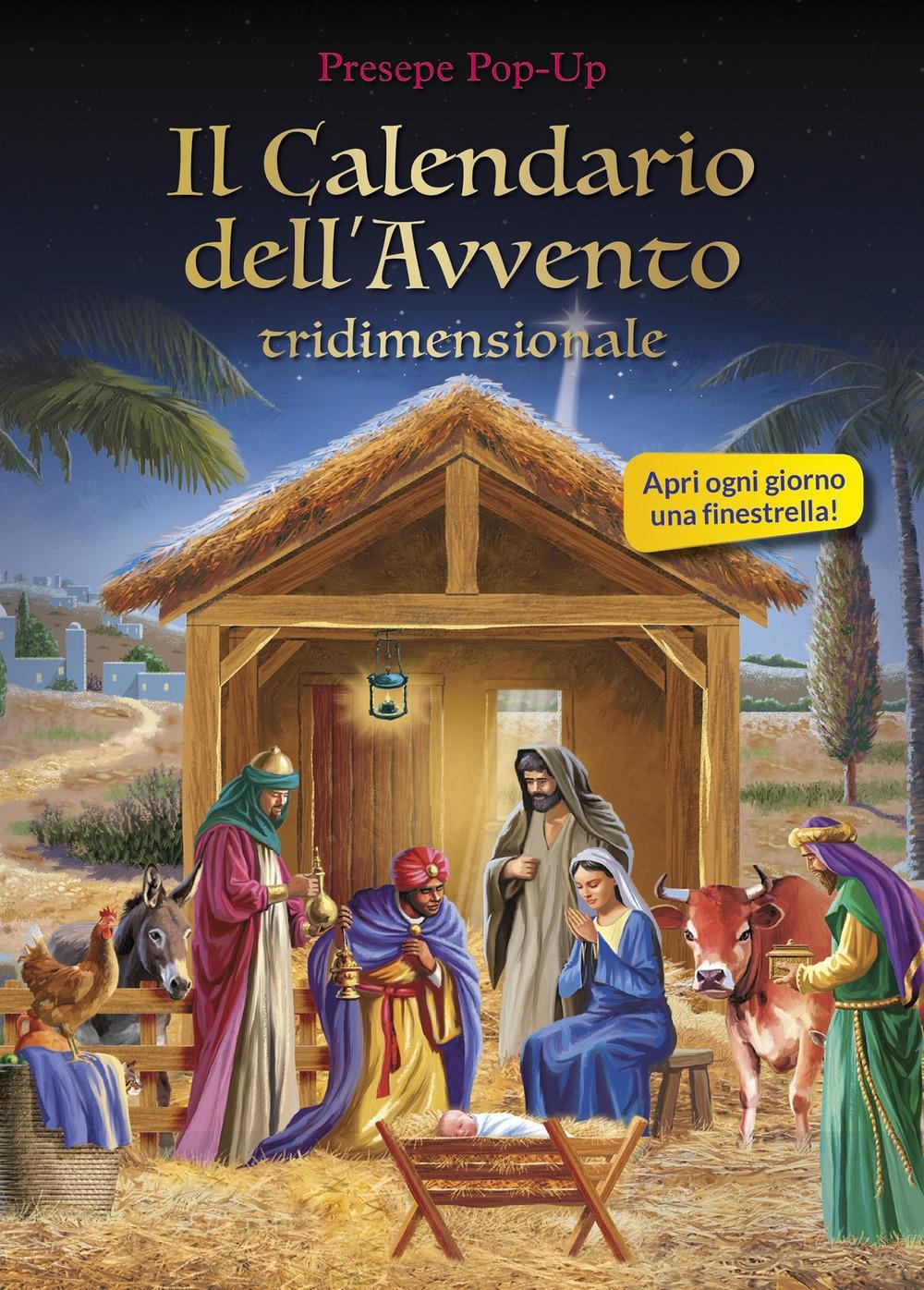 Calendario dell'Avvento tridimensionale. Ediz. illustrata