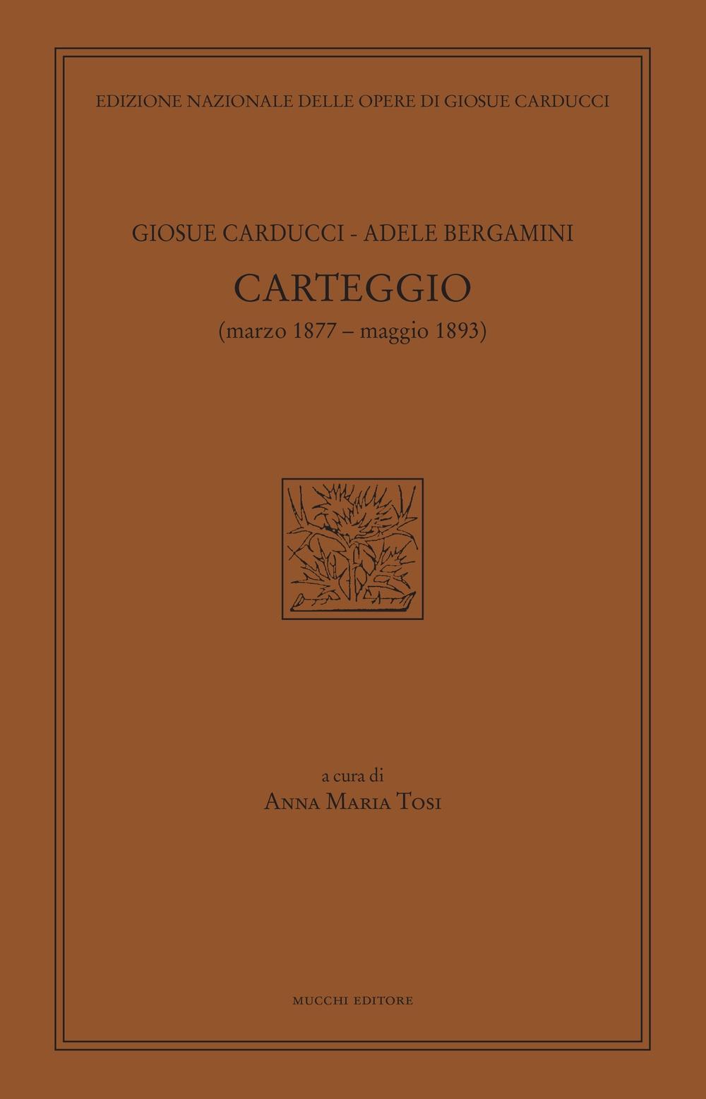 Carteggio (marzo 1877-maggio 1893)