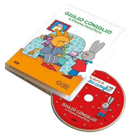 Giulio Coniglio e il leone forestiero. Con DVD video