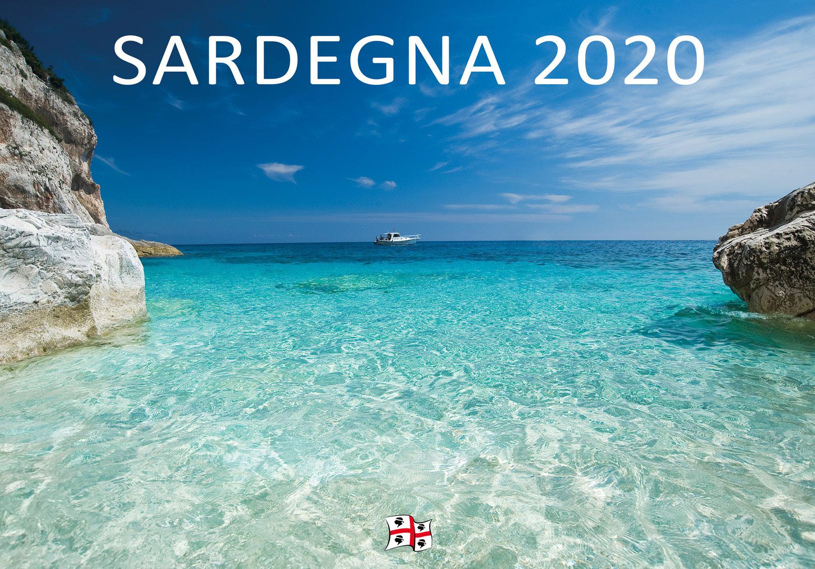 Calendario 2020 Da Tavolo.Calendario Sardegna 2020 Da Tavolo