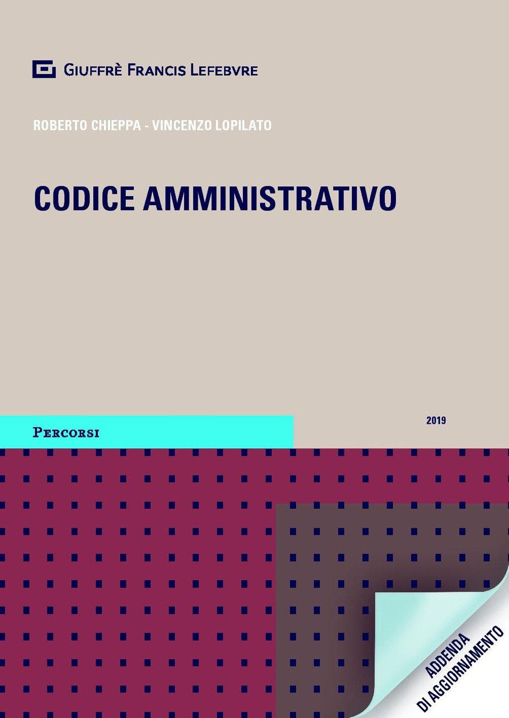 Codice amministrativo. Addenda di aggiornamento