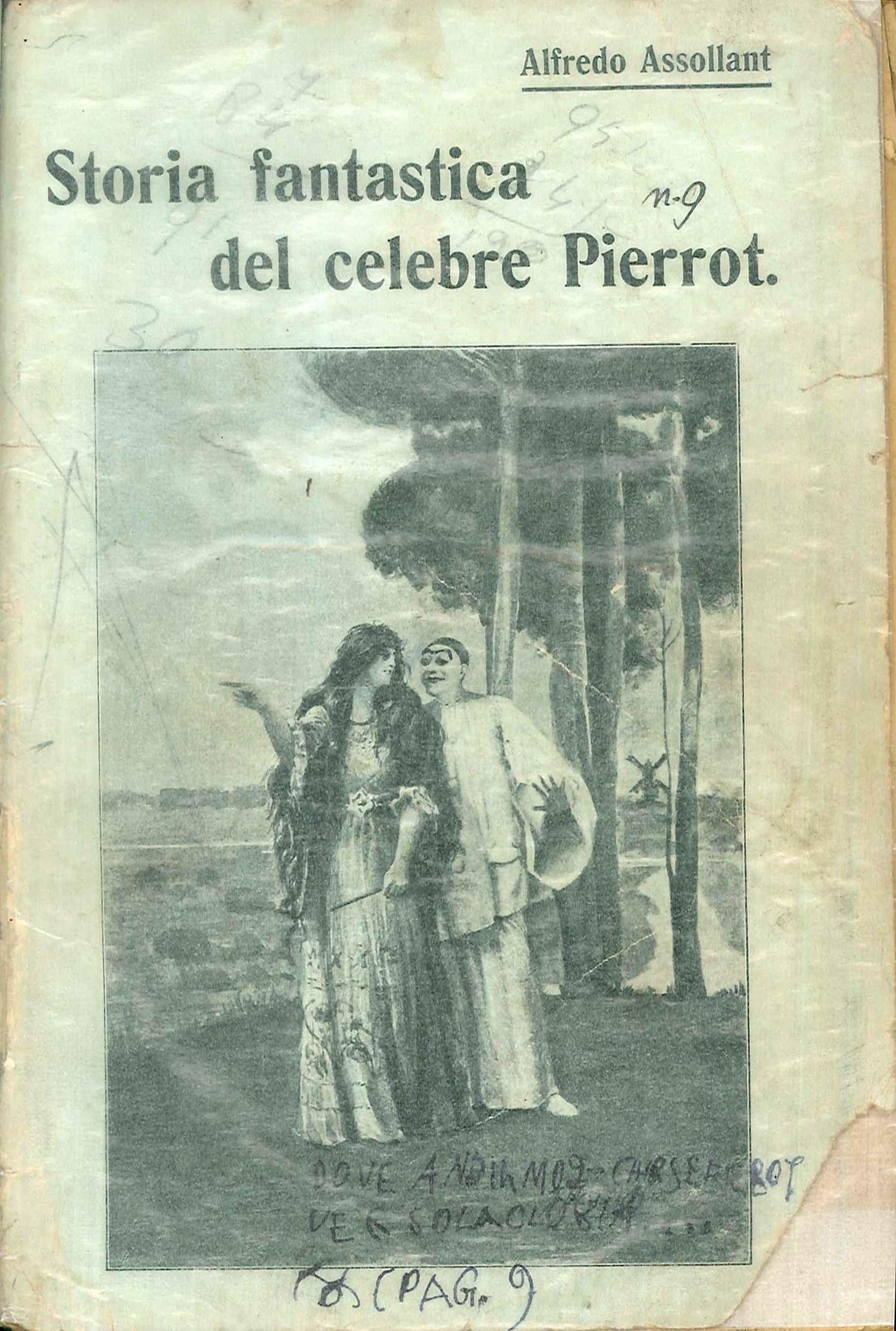 Storia fantastica del celebre Pierrot narrata dal mago Alcofribas