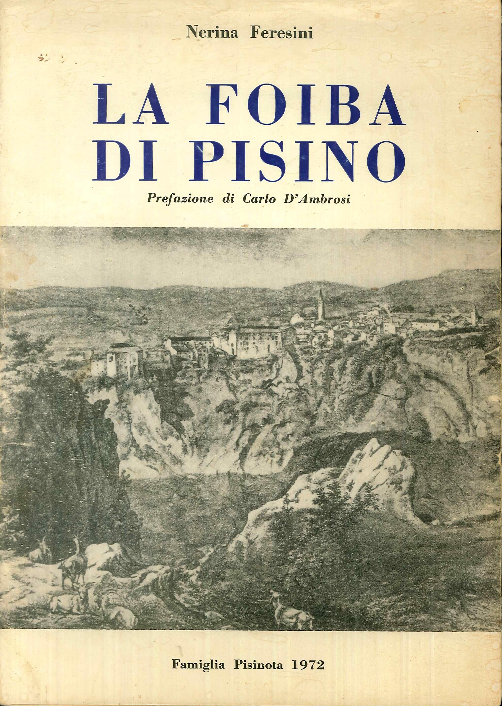 La foiba di Pisino.