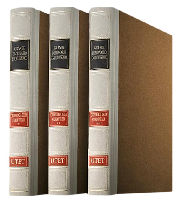 Cronologia della Storia d'Italia. Vol. 1. Preistoria 1454. Vol. 2.1455-1847. Vol. 3. 1848-2008