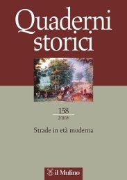 Quaderni Storici. 158. 2/2018.  Annata: LIII