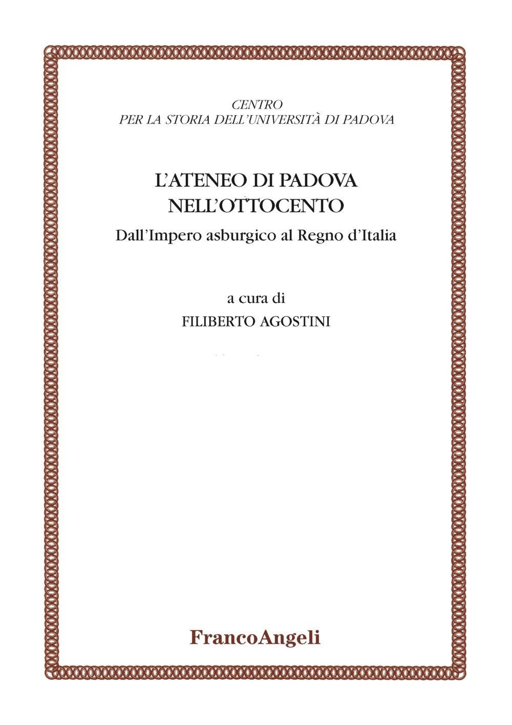 L'ateneo di Padova nell'Ottocento