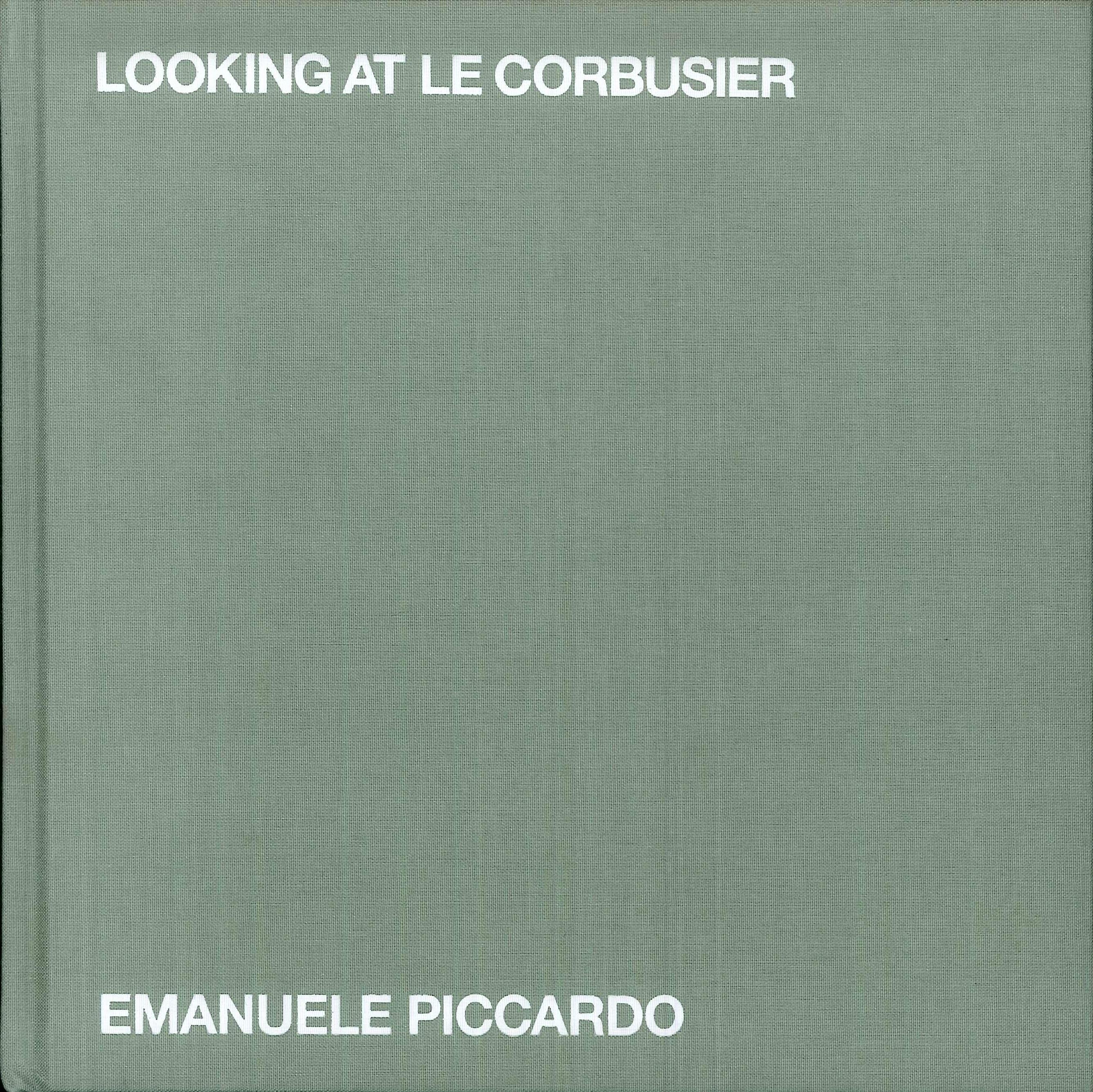 Looking at Le Corbusier.