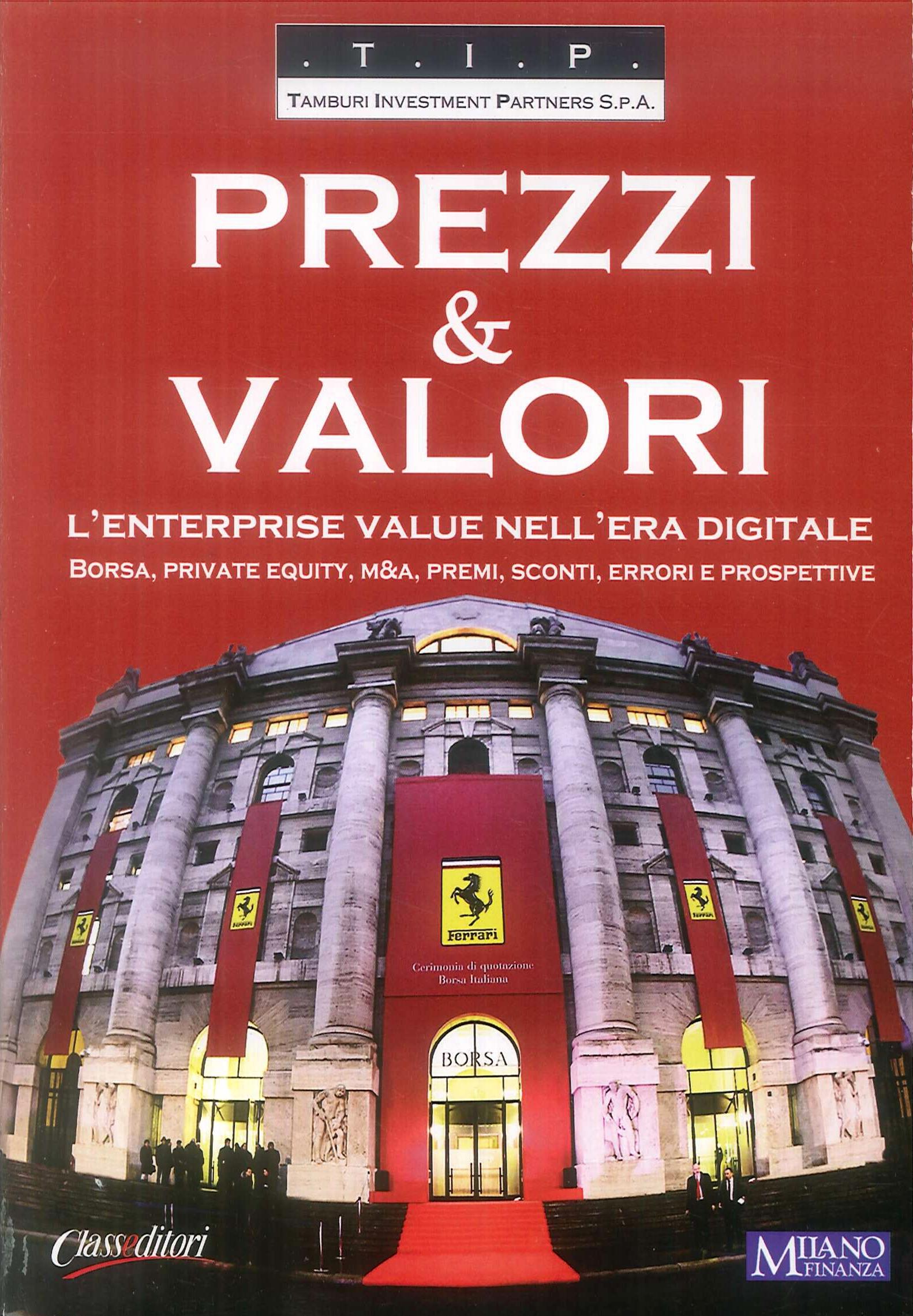 Prezzi e valori. L'enterprise value nell'era digitale.