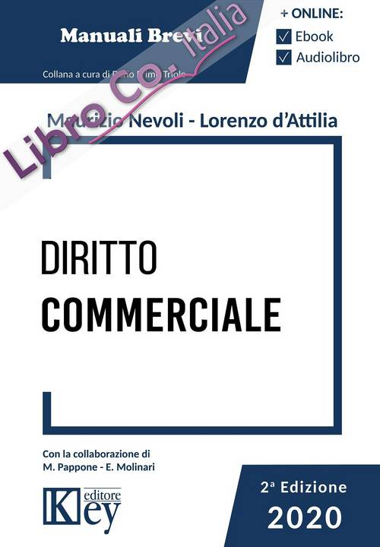 Diritto commerciale. Manuale breve