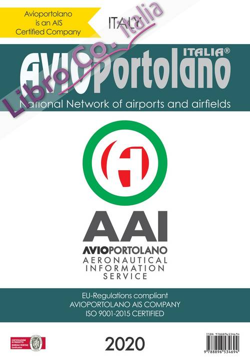 Avioportolano Italy. National Network of airports and airfields