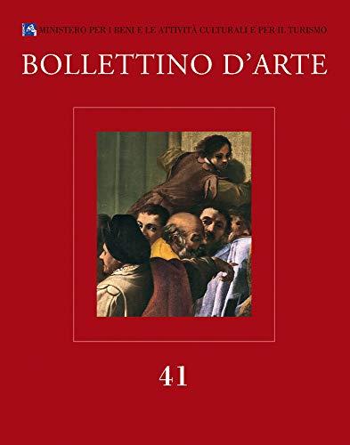 Bollettino d'Arte. 41. Gennaio-Marzo 2019. Serie VII.