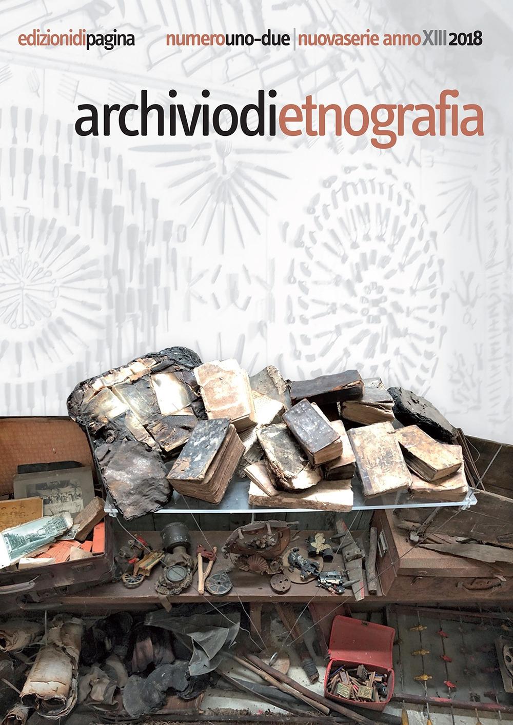 Archivio di etnografia (2018). Vol. 1-2