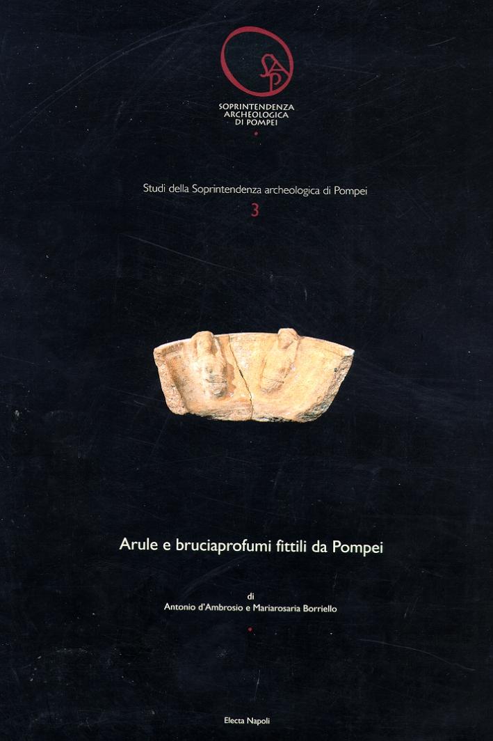 Arule e bruciaprofumi da Pompei