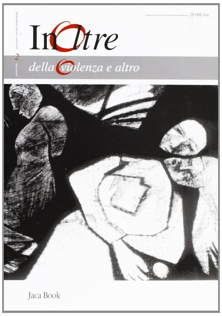 Della-violenza-e-altro-Primavera-1999-Jaca-Book