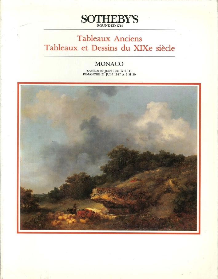 Tableaux-Anciens-Tableaux-Et-Dessins-Du-XIXe-Siecle-Sotheby-039-s-Parke-Bernet