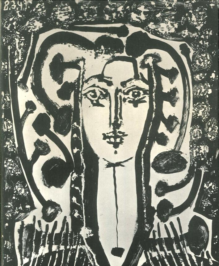 Picasso-Graphik-Von-1904-Bis-1968