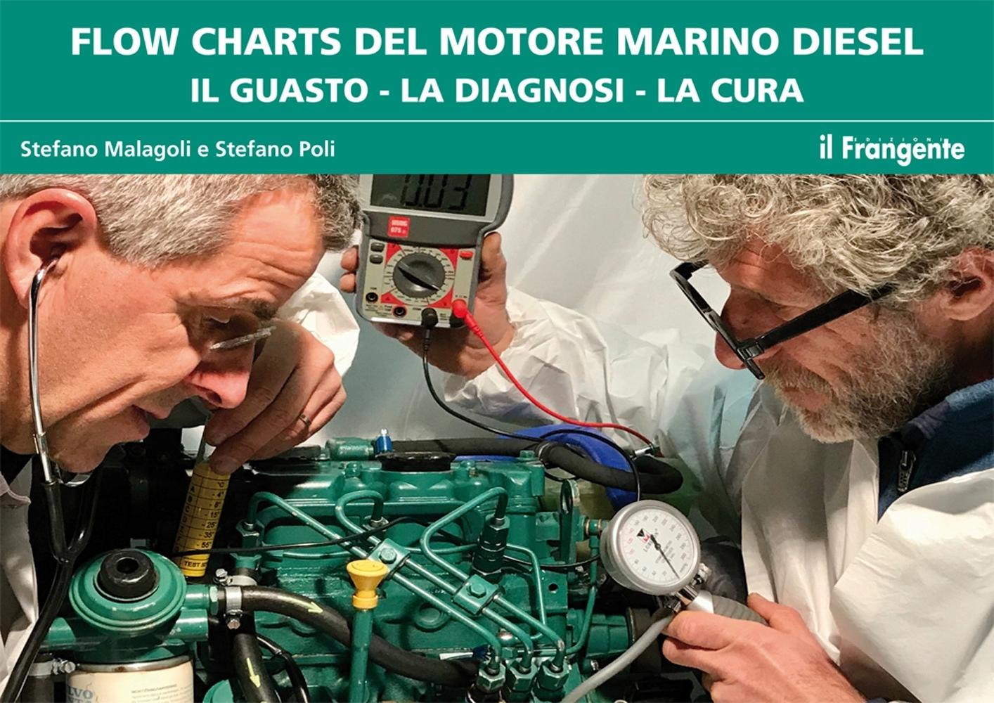 Flow charts del motore marino diesel. Il guasto, la diagnosi, la cura