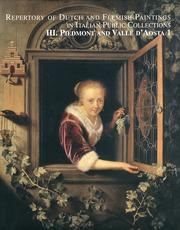 Repertory of Dutch and Flemish Paintings in Italian Public Collections. III. Piedmont and Valle d'Aosta. Vol. 1 e 2.