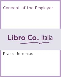 Concept of the Employer.