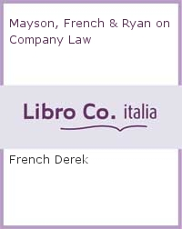 Mayson, French & Ryan on Company Law.
