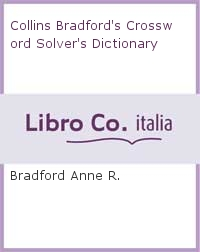 Collins Bradford's Crossword Solver's Dictionary.