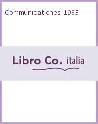 Communicationes 1985.