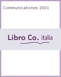 Communicationes 2001.