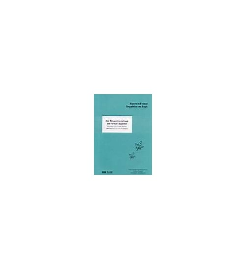 New Prospectives in Logic and Formal Linguistics.