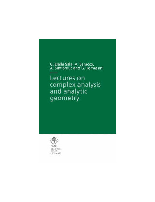 Lectures on complex analysis and analytic geometry.