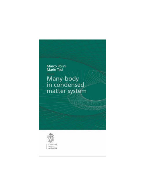 Many-body physics in condensed matter systems.