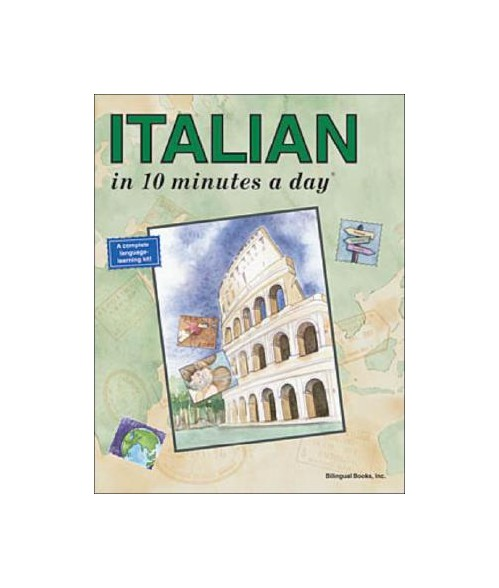 Italian in 10 minutes a day.