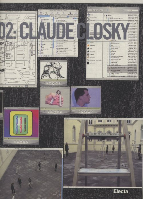 02: Claude Closky. Climb at your own risk.