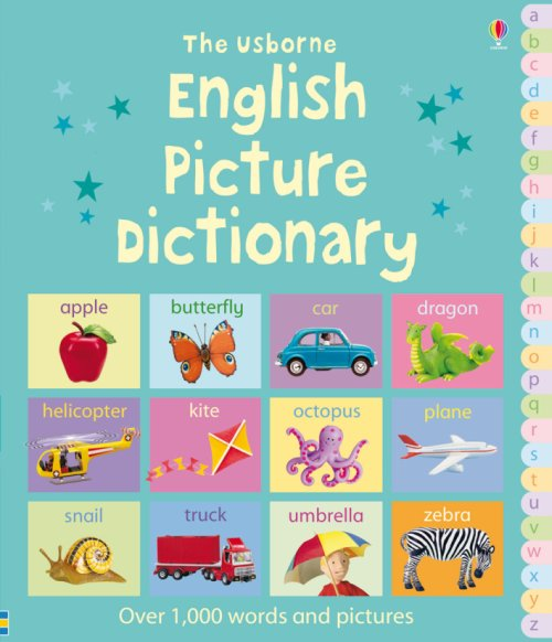English picture dictionary.