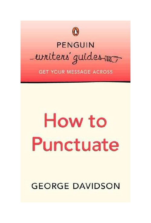 How to Punctuate.