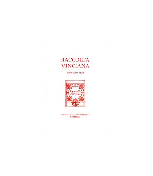 Raccolta Vinciana (1990). Vol. 23.
